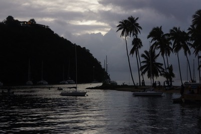 010913 10 Sunset in Marigot Bay