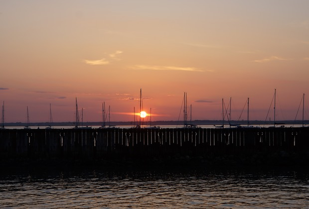 052513 Yarmouth Harbour Isle of Wight Sunset
