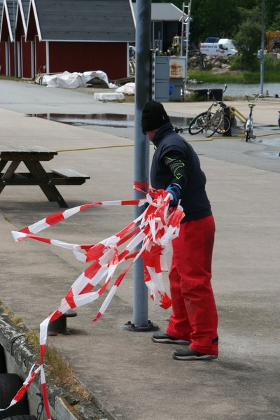 062612 7 The friendliest marina weve come across - Sandhamn Havn - put out the red tape for our arrival