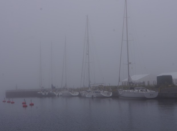 072213 1 Tuborg Harbour Islay in Fog
