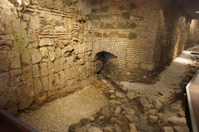101112 5 Ruins Under our hotel at Malaga dating back as far as Roman Times 4th c AD