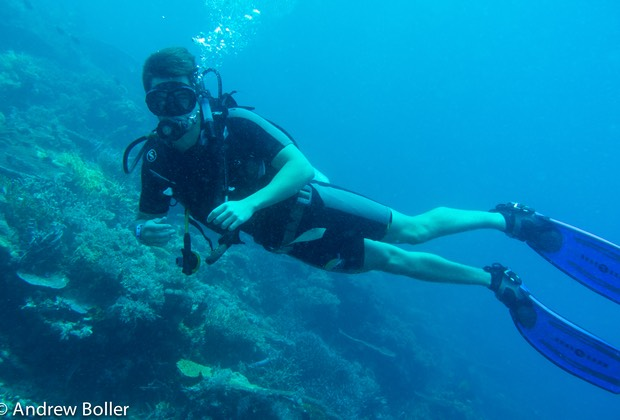 Timor - Scotts second open water dive