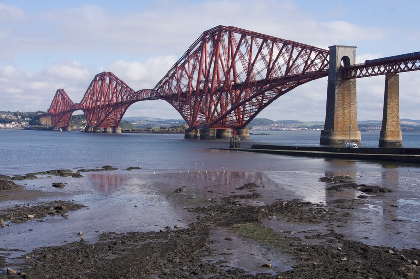 140825 1 Firth of Forth Bridge South Queensferry
