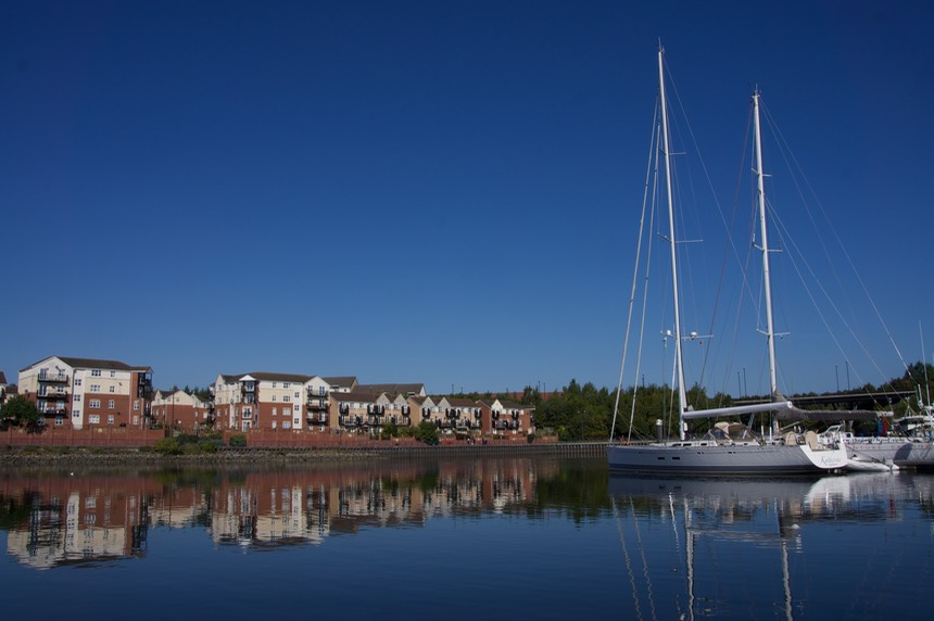 140901 3 Royal Quays Marina Katherine