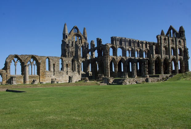 140907 Whitby Abby commenced in the 11th century