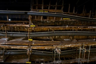 140919 3 The drying out of the Mary Rose Remains