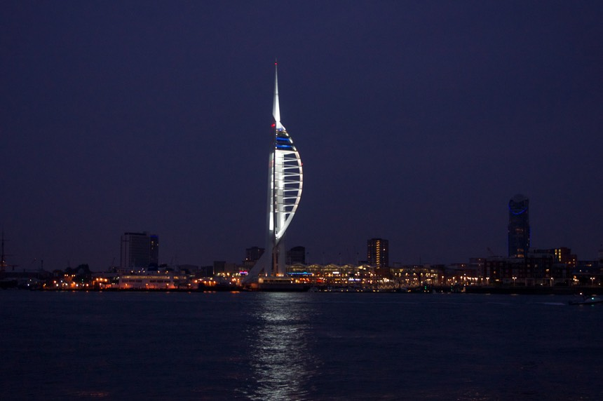 140923 6 Portsmouth by night