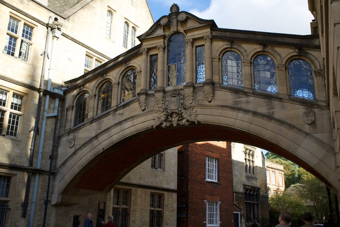 141020 15 Walking tour of Oxford Bridge of Sighs 1914