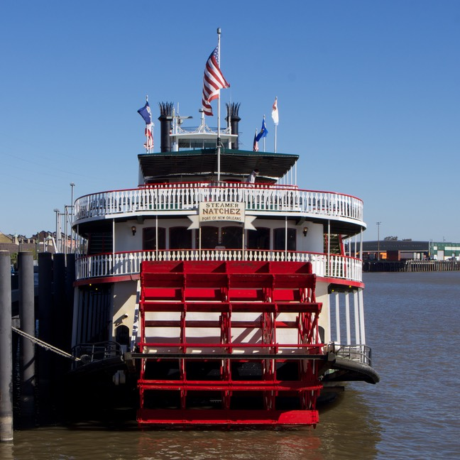 141107 4 The Natchez Paddle Steamer New Orleans