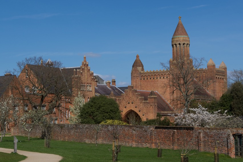 150411 14 Drive Day Isle of Wight Quarr Abbey