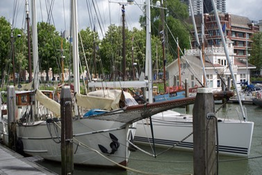 150519 10 Katherine alongside in the beautiful harbour of Stichting Veerhaven.jpg