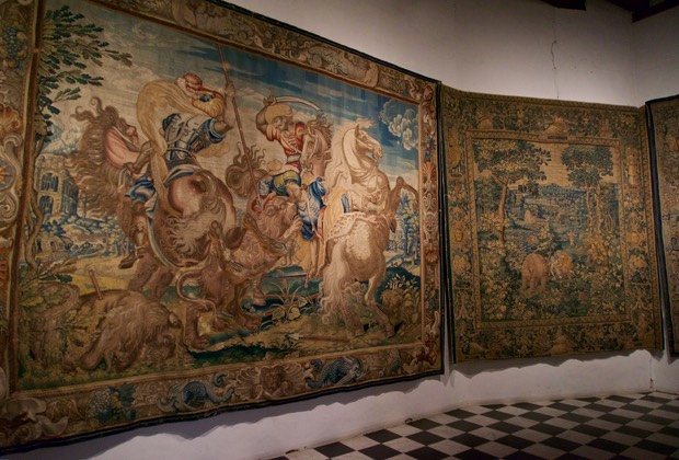 150717 Kronborg Slot The Tapestries