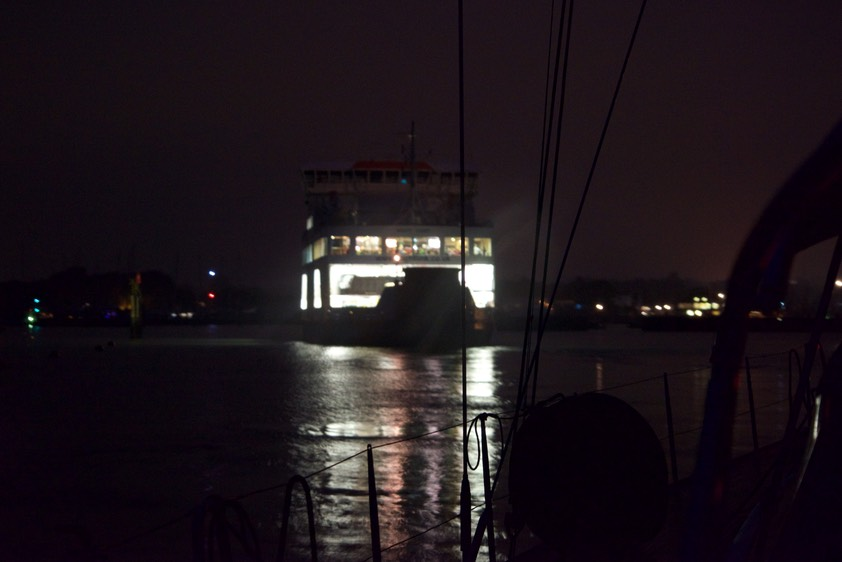 151027 2 Negotiating the Lymington Channel behind the Isle of Wight Ferry.jpg