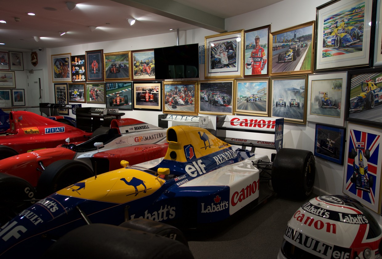 160518 Nigel Mansell Formula 1 and Indy Car Museum