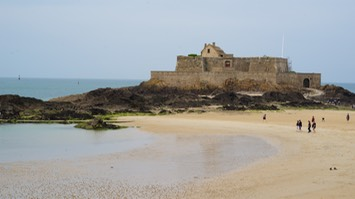 160521 Fort Nationale 17th Century Fortress accessible only on low tide