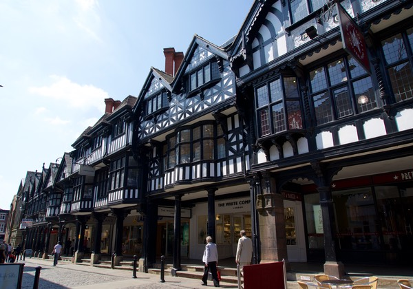160529 Walled City of Chester England
