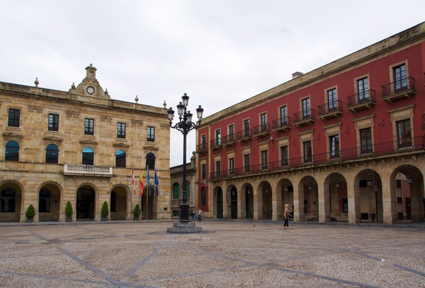 160720 Gijon Plaza Mayor