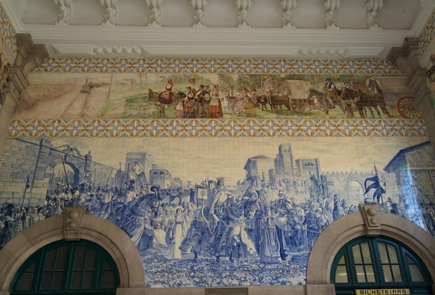 160812 Porto walking tour São Bento Railway Station 1905 to1916