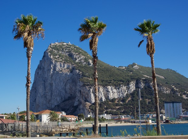 160909 La Linea and the view of The Rock Gibraltar