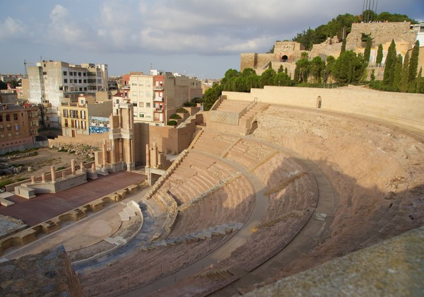 161009 Cartagena Roman Theatre from Castillo Dela Concepcion