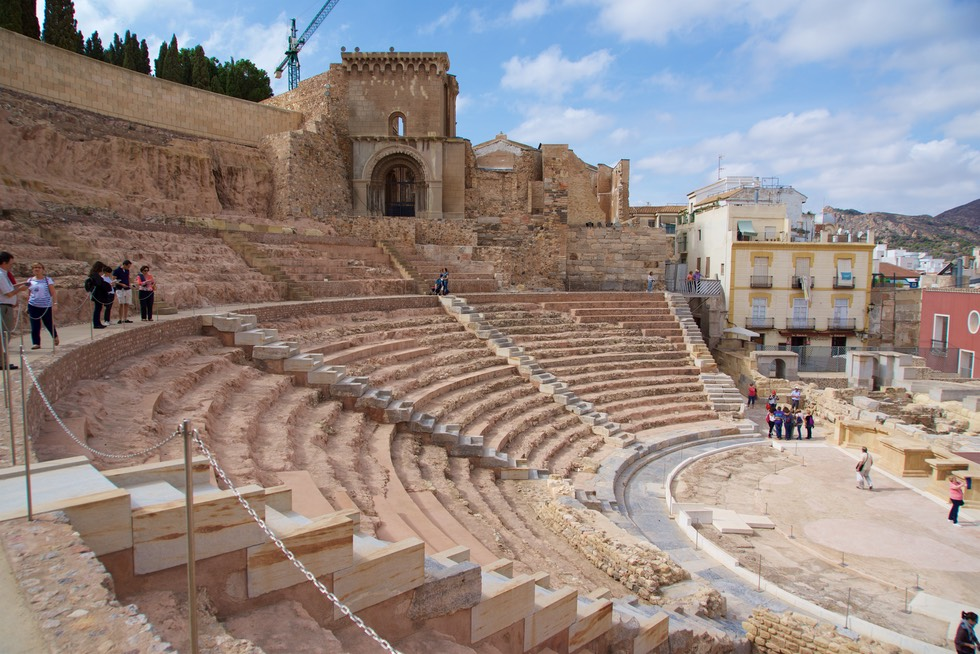 161016 4 Touring Cartagena with Charo Ian and Bruce Roman Theatre