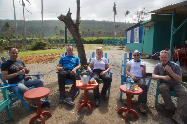 161201 42 Ride from Baracoa along Coastline Coffee Stop