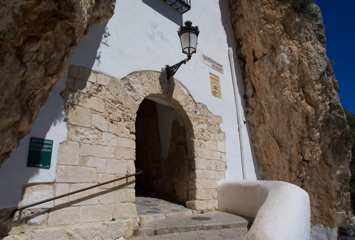 170401 Guadalest Tunnel to Old Town