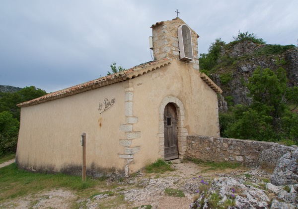 170531 24 Drive day to Gorge Du Verdon Aiguines La Chapelle St Pierre founded in 11th Century