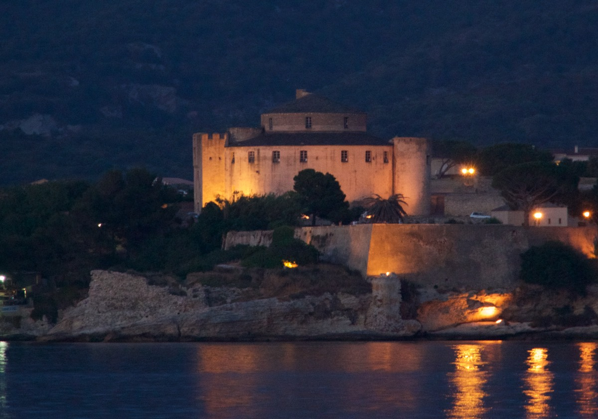 170616 Citadel by night St Florent