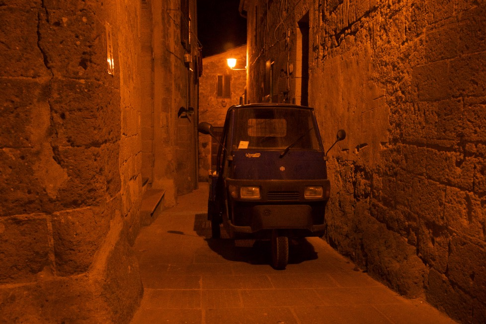 170622 19 Night 1 Pitigliano The reason for the small trucks is clear