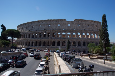 170707 2 Day trip to Rome - The Collosseum