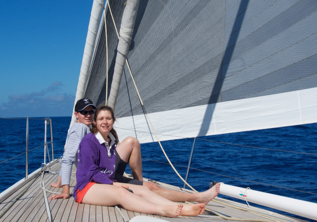170914 Ben and Renae Sailing Rome to Isle Elba