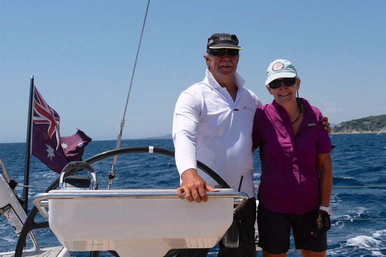 180712 6 Andrew and Lee another day isailing
