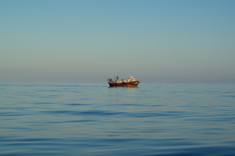 180815 2 Loan Fishing Boat when returning from Melilla to Spain Mainland