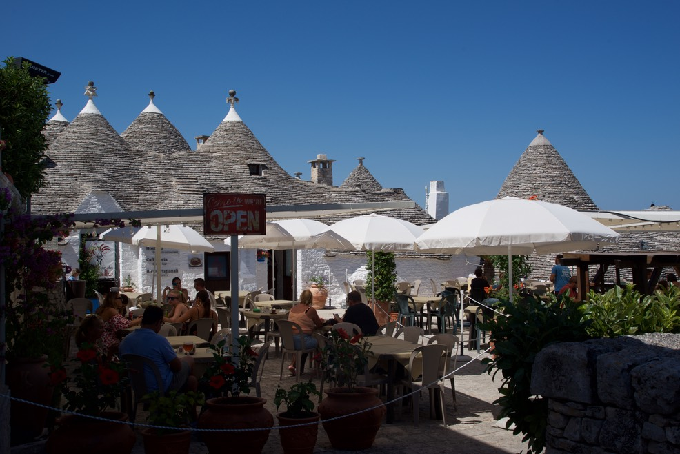 190810 8 Alberobello the Trulli Capital Our lunch time restaurant