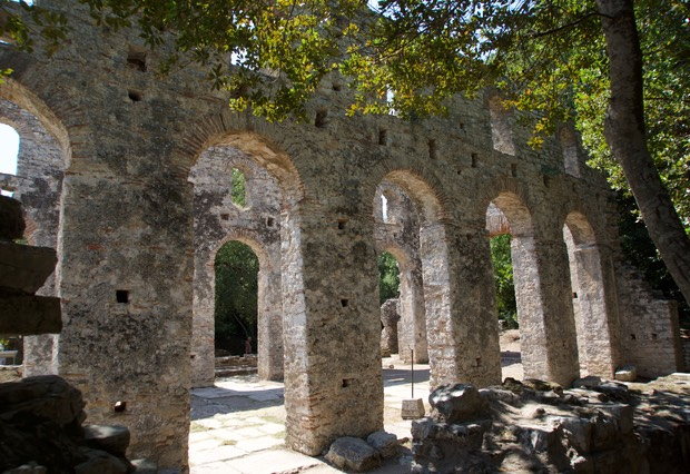 190821 17 Butrint National Park The Great Basilica 6th century AD