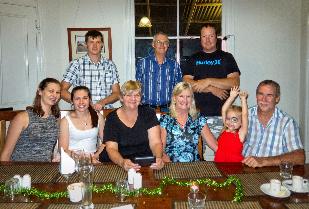 Catching up with family in Tamworth